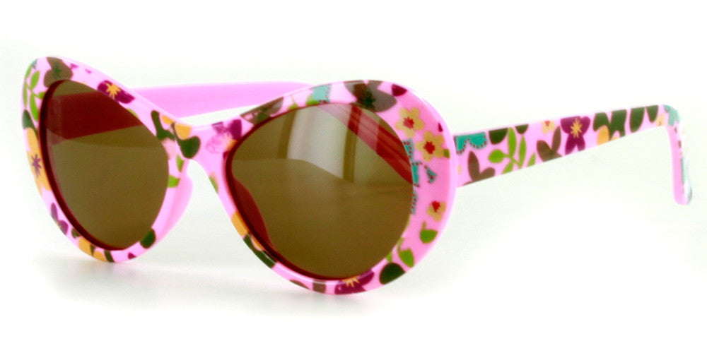 """Secret Garden"" Polarized Kids Sunglasses in Four Gorgeous Colors - 100% UV - Aloha Eyes - 3"