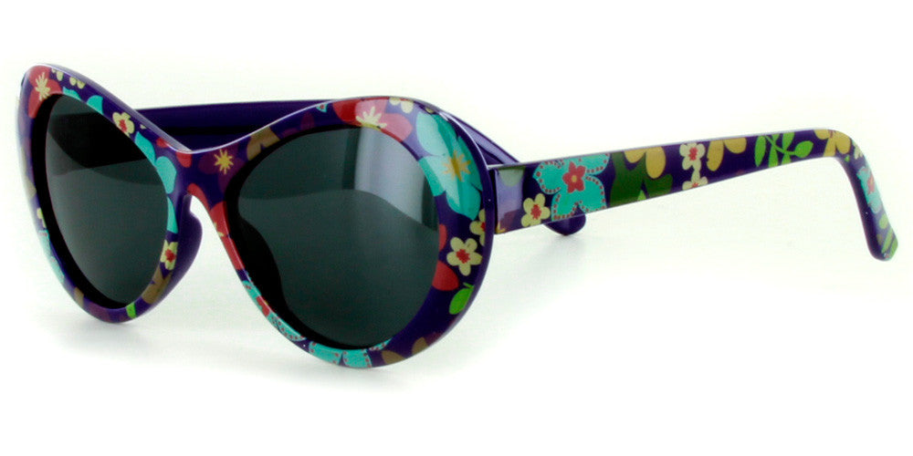 """Secret Garden"" Polarized Kids Sunglasses in Four Gorgeous Colors - 100% UV - Aloha Eyes - 2"