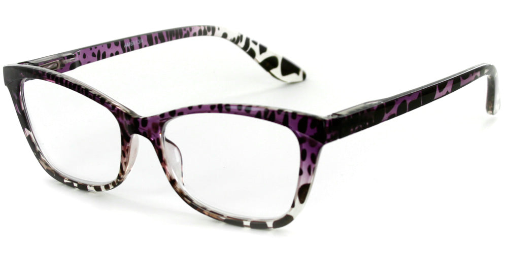 """Serengeti"" Women's Cat Eye Animal Print Readers"