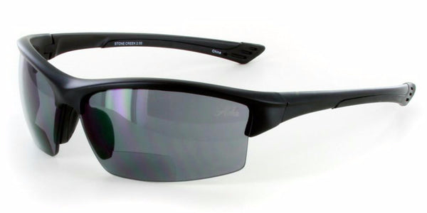 """Stone Creek"" MX1 Wrap-Around Bifocal Reading Sunglasses"