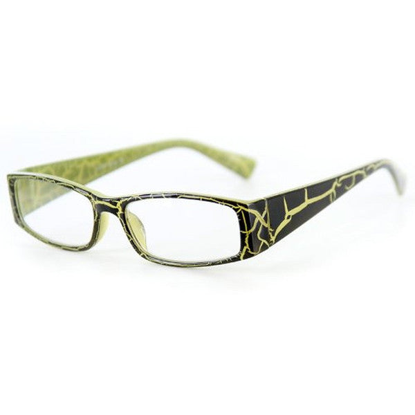 """Wild Side"" Trendy Rectangular Reading Glasses with Animal Print for Stylish Women - Aloha Eyes - 3"