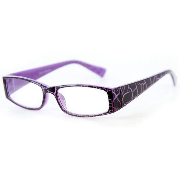 """Wild Side"" Trendy Rectangular Reading Glasses with Animal Print for Stylish Women - Aloha Eyes - 4"