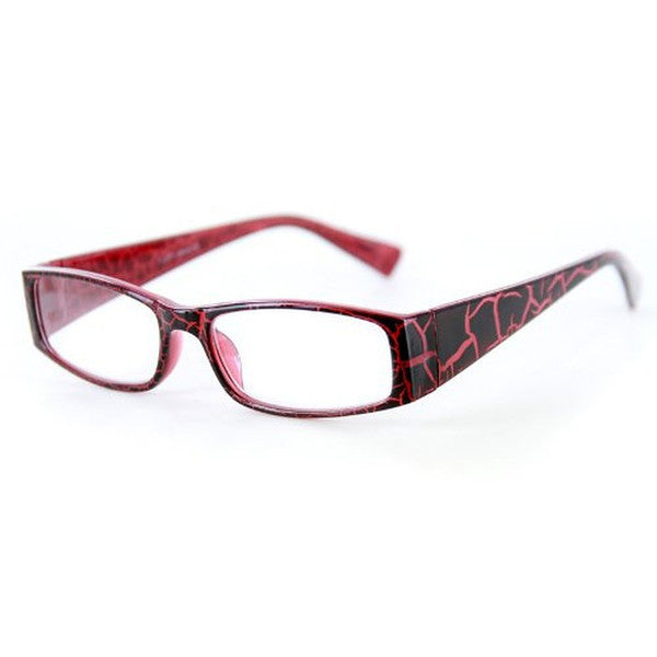 """Wild Side"" Trendy Rectangular Reading Glasses with Animal Print for Stylish Women - Aloha Eyes - 5"