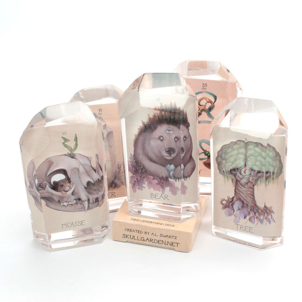 blind bag skullgarden lenormand crystal