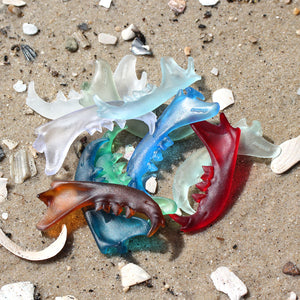 seaglass cat jaw - preorder