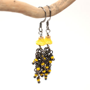pollen earrings