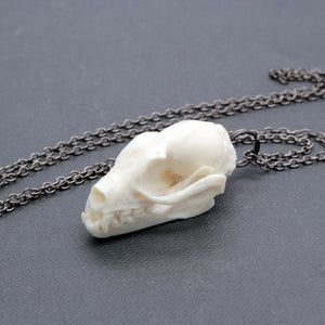 bat skull necklace
