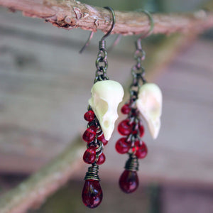 seven drop earrings