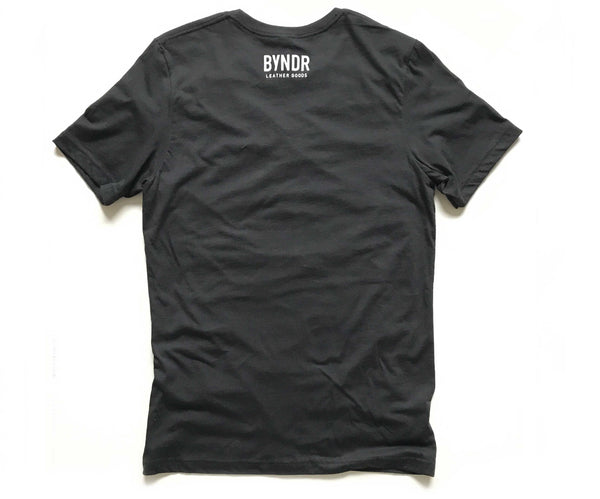 BYNDR LEATHER T-SHIRT