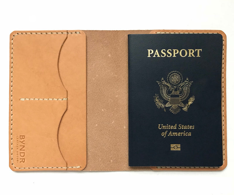 Gulliver Passport Case - BYNDR LEATHER GOODS