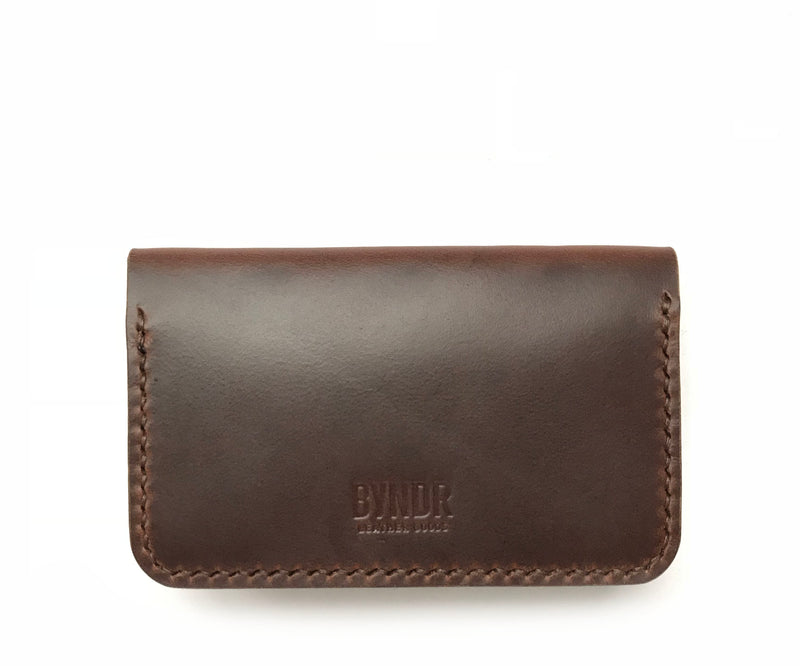 Two-Pocket Osbourne Wallet - BYNDR LEATHER GOODS