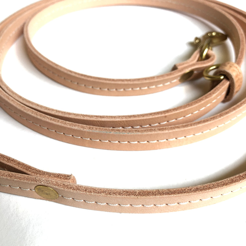 Leather Dog Leash - BYNDR LAB - BYNDR LEATHER GOODS