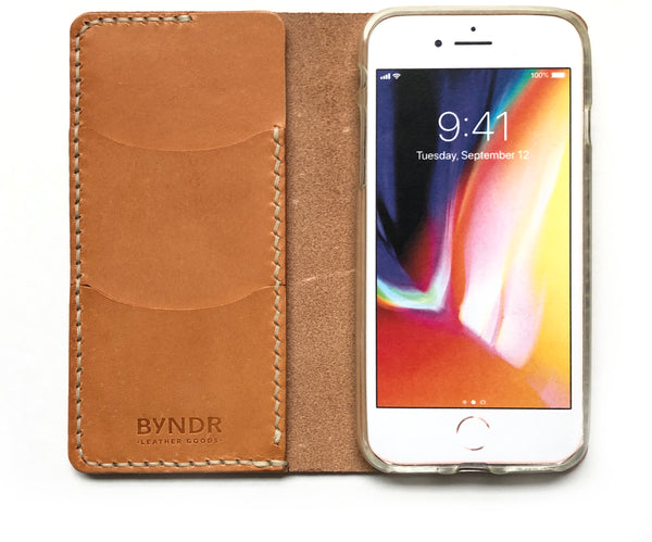 iPhone Folio/Case - BYNDR LEATHER GOODS