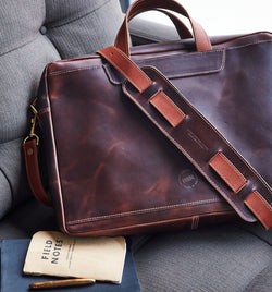 BYNDR Laptop/Messenger bag - BYNDR LAB - BYNDR LEATHER GOODS