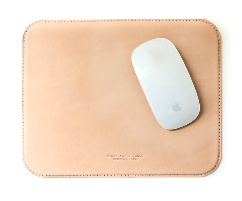 Leather Mousepad - BYNDR LEATHER GOODS