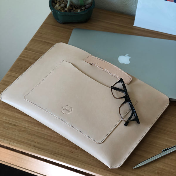 LAPTOP SLEEVE - BYNDR LEATHER GOODS