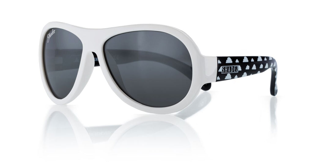 Designer Aviator - Cloud Print White