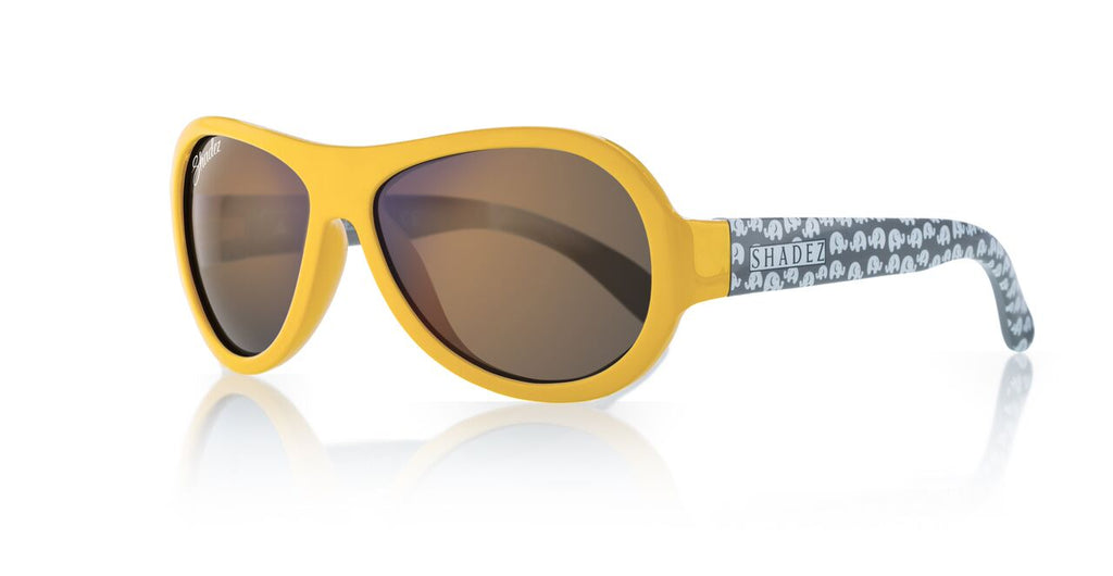 Designer Aviator - Elephant Yellow