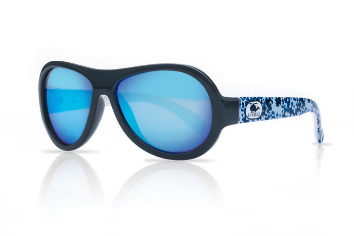 Designer Aviator - Helicopter Camo Blue (3-7 yrs)