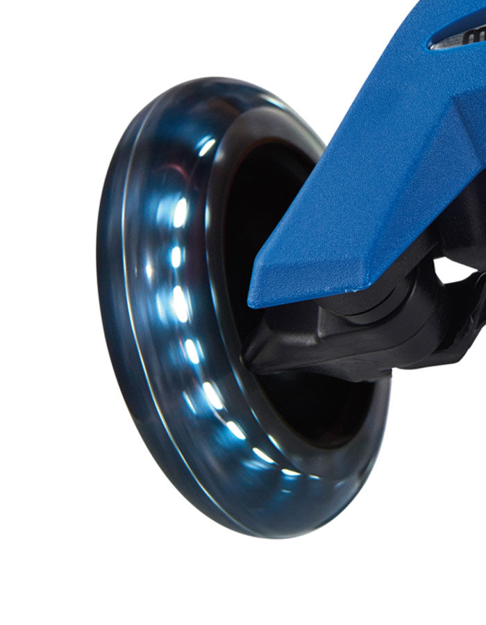 MICRO Wheel 120mm Black LED (Maxi) (Set of two)