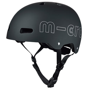 MICRO Helmet ABS2 - Black Matt - Sizes: M / L