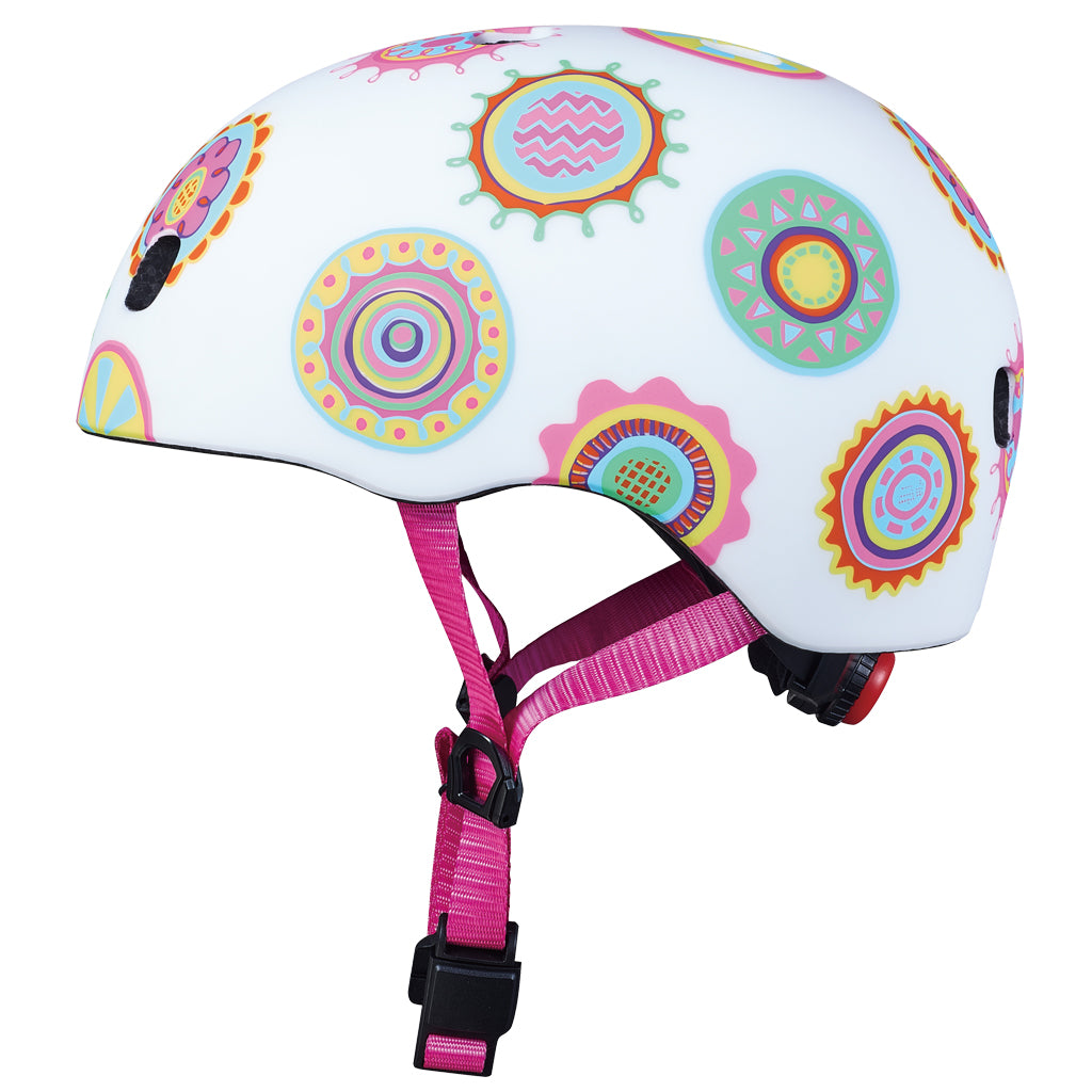 MICRO Helmet PC - Doodle Dot Matt - Sizes: S / M