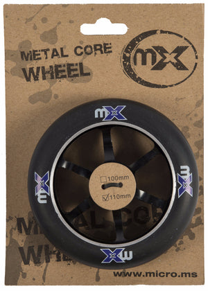 MICRO MX Wheel 110mm 5-Spoke Metal Core