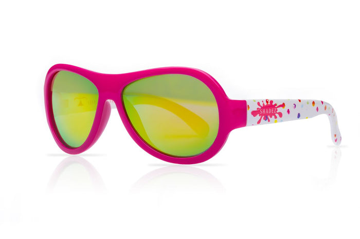 Designer Aviator - Paint Splash Fuchsia (3-7 yrs)