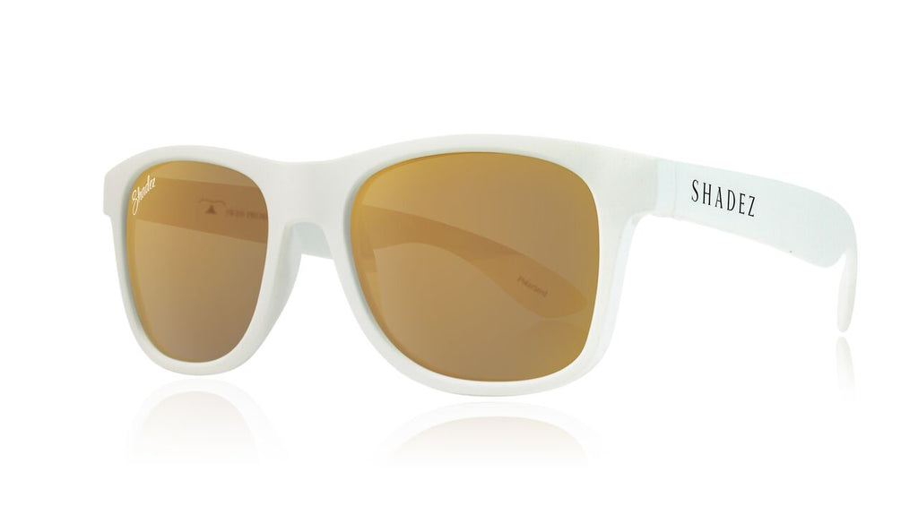 Polarized - White / Gold