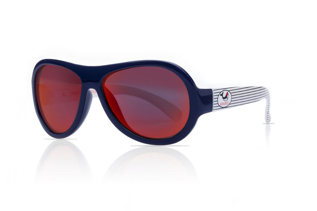 Designer Aviator - Whale Navy Stripes