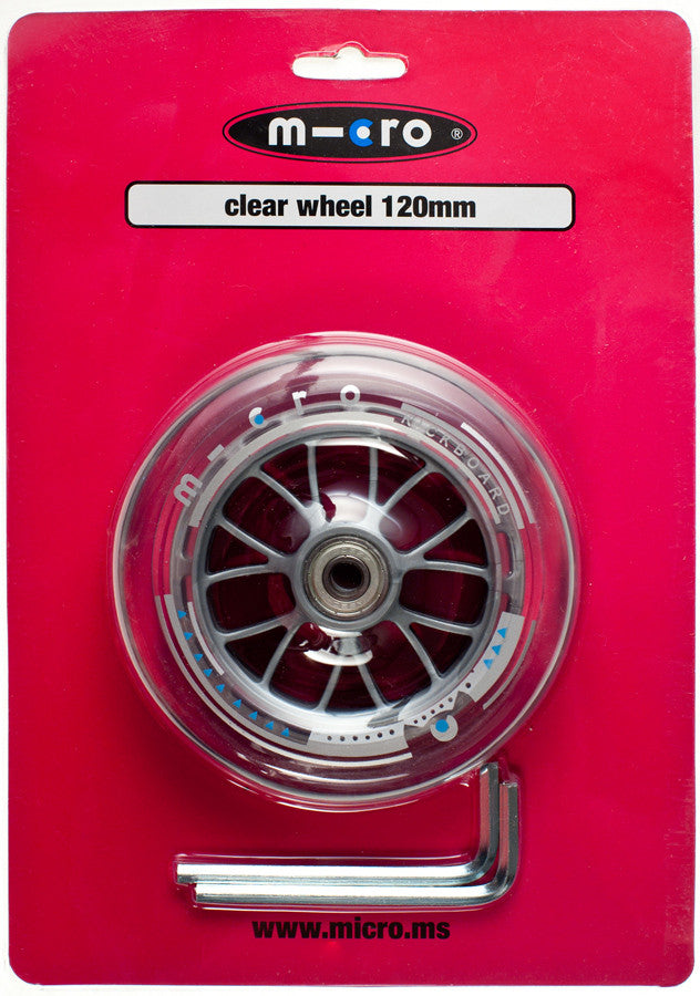 MICRO Wheel 120mm Clear