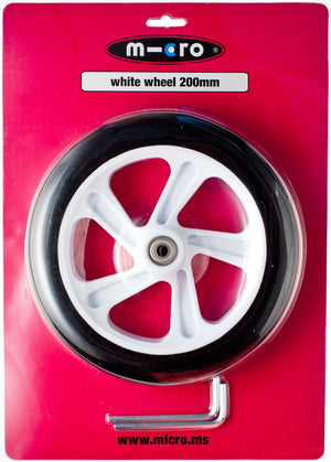 Micro Wheel White 200mm