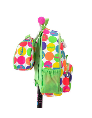 Rucksack & Lunchbag - Neon Dots On Pink
