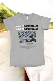 Mad World - Crew & V Neck
