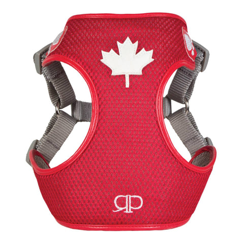 Pretty Paw - Pretty Paw - Designer Harness Canada Red / 1 - XXSmall - Pet Cuisine & Accessories - 1
