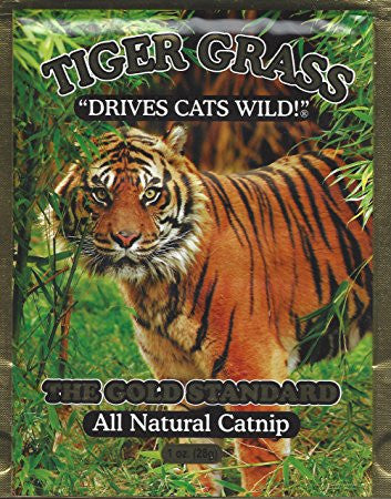 Burgham - Tiger Grass  - Pet Cuisine & Accessories