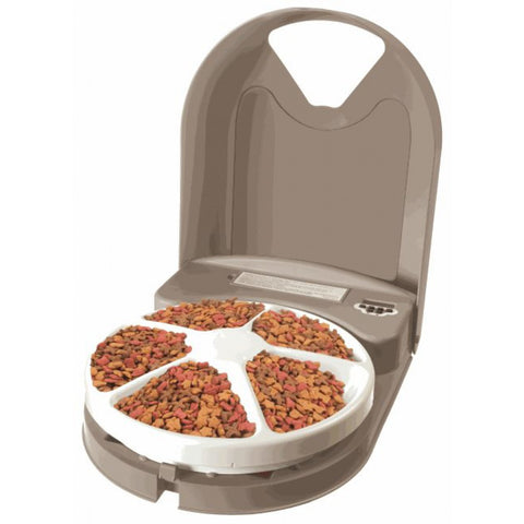 PetSafe - Eatwell - Automated 5 Meal Pet Feeder  - Pet Cuisine & Accessories - 1