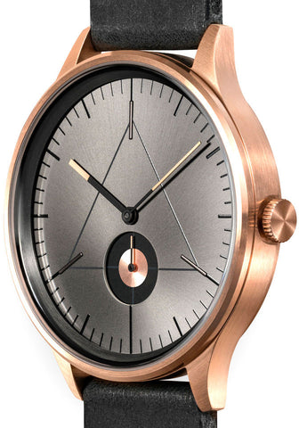 Cronometrics Architect L10 Rose Gold Black Leather