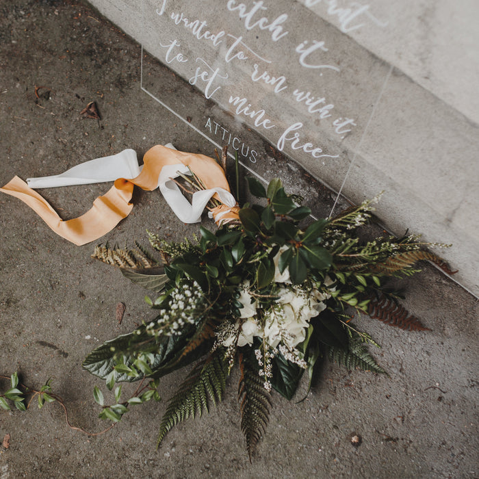 Our Favourite Florists - Feathers and Stone