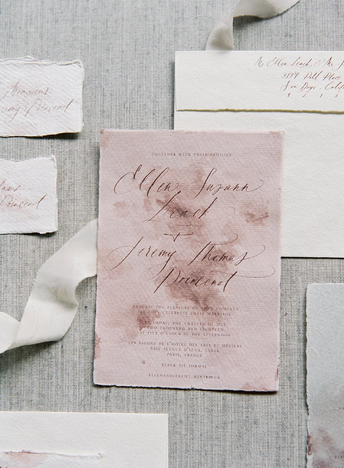 Vendor Feature | Julie Ha Calligraphy - Feathers and Stone