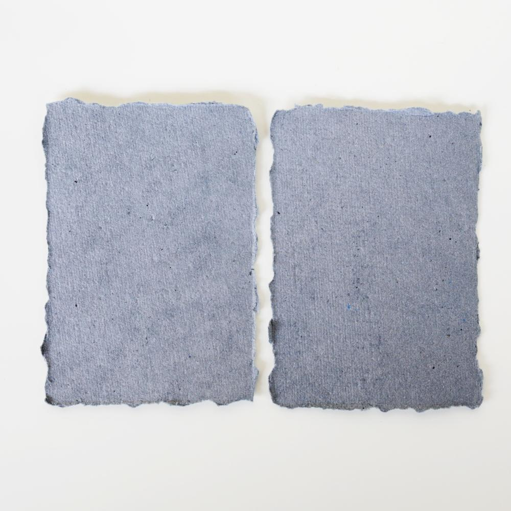 Dusty Blue Recycled Place Cards / Escort Cards / Tags