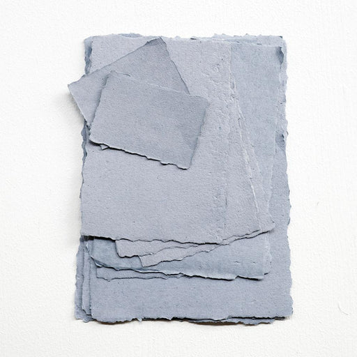 DUSTY BLUE handmade recycled PAPER