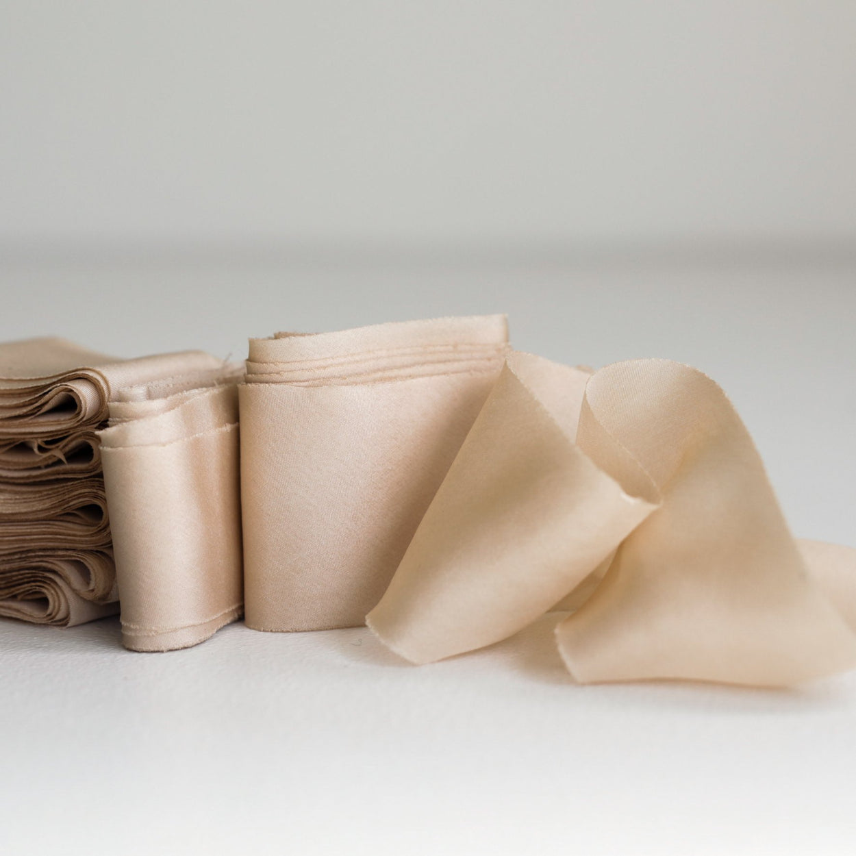 DUSTY ALMOND // Habotai Silk
