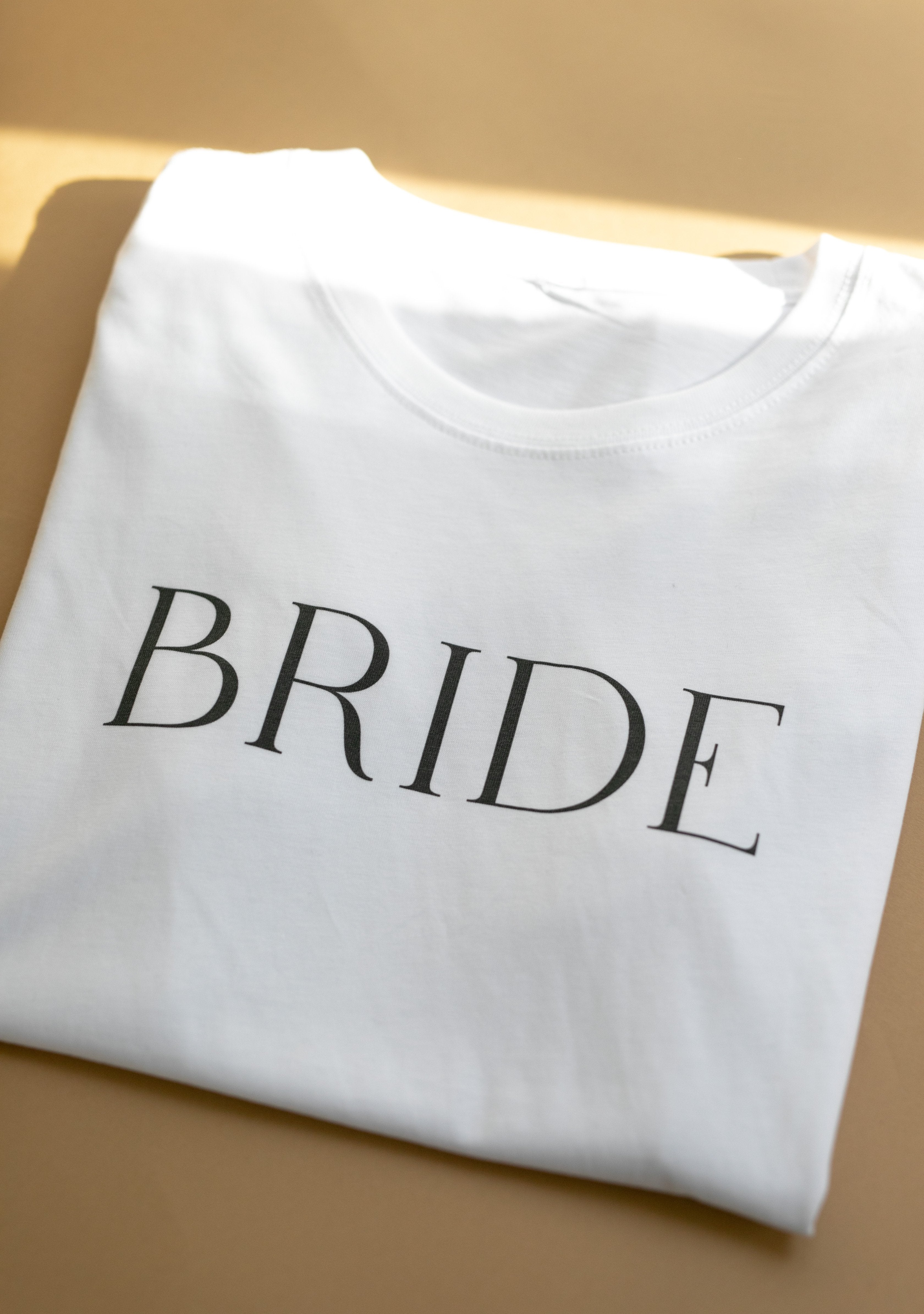 BRIDE Organic Cotton T-shirt