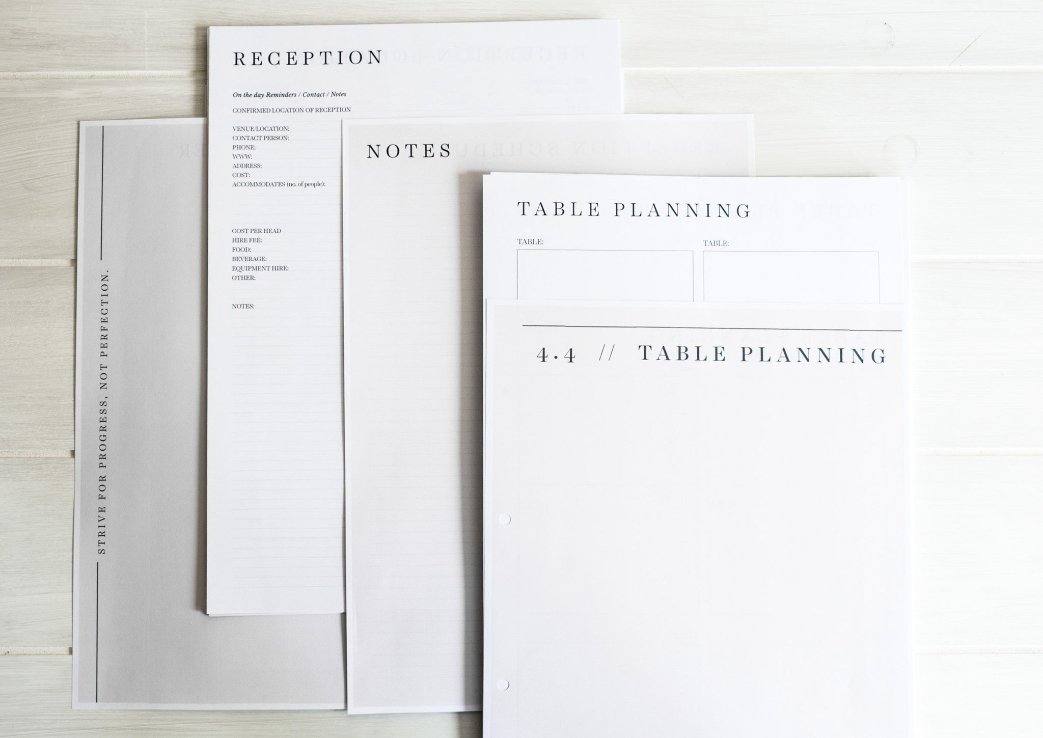 Wedding planning book / Spiral Bound / Wedding Organiser and the perfect engagement gift.
