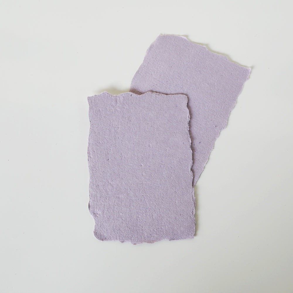 Lavender Recycled Place Cards / Escort Cards / Tags
