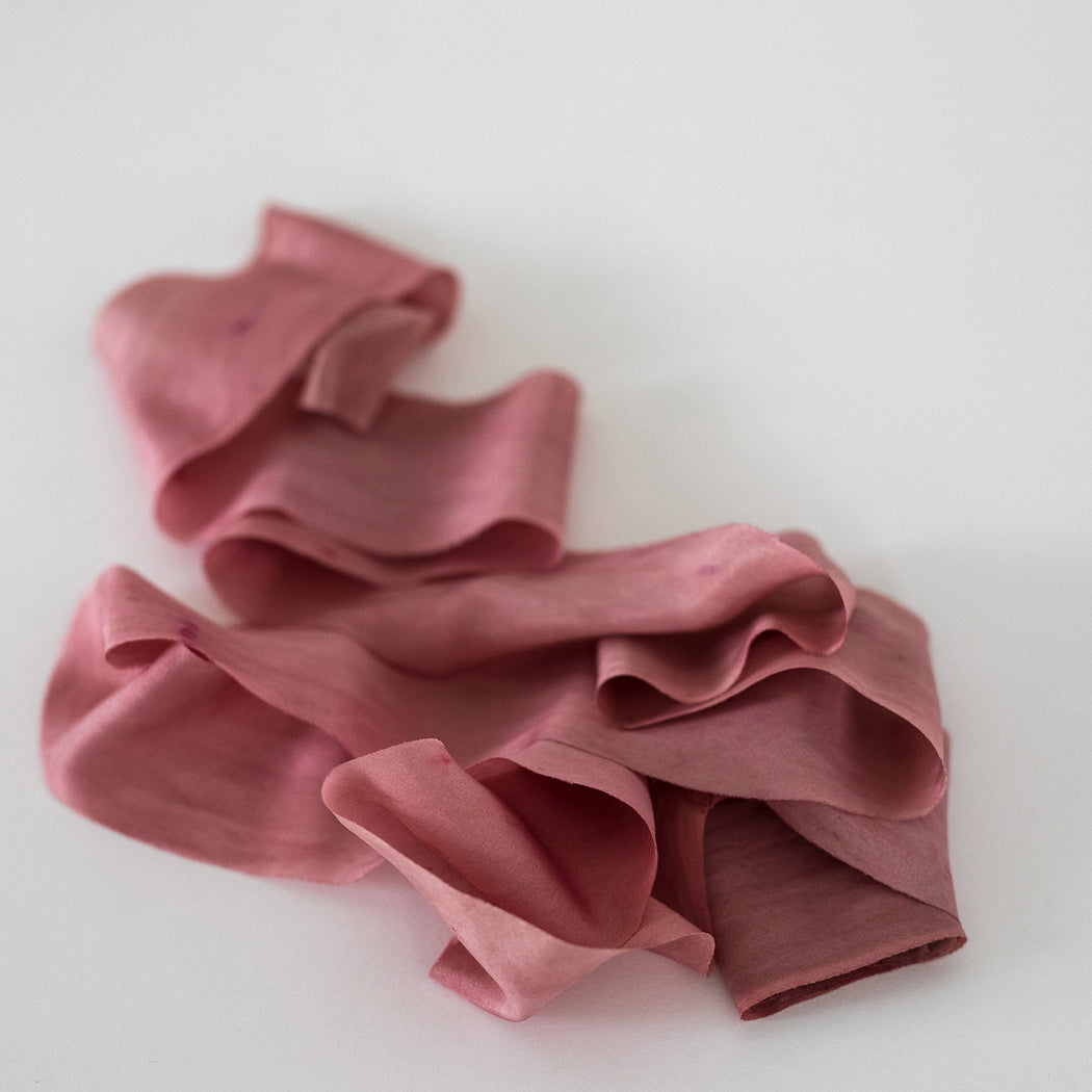 MULBERRY ROSE // HABOTAI SILK