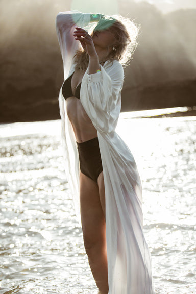OPHELIA SILK ROBE by WILD UNDONE - Feathers and Stone