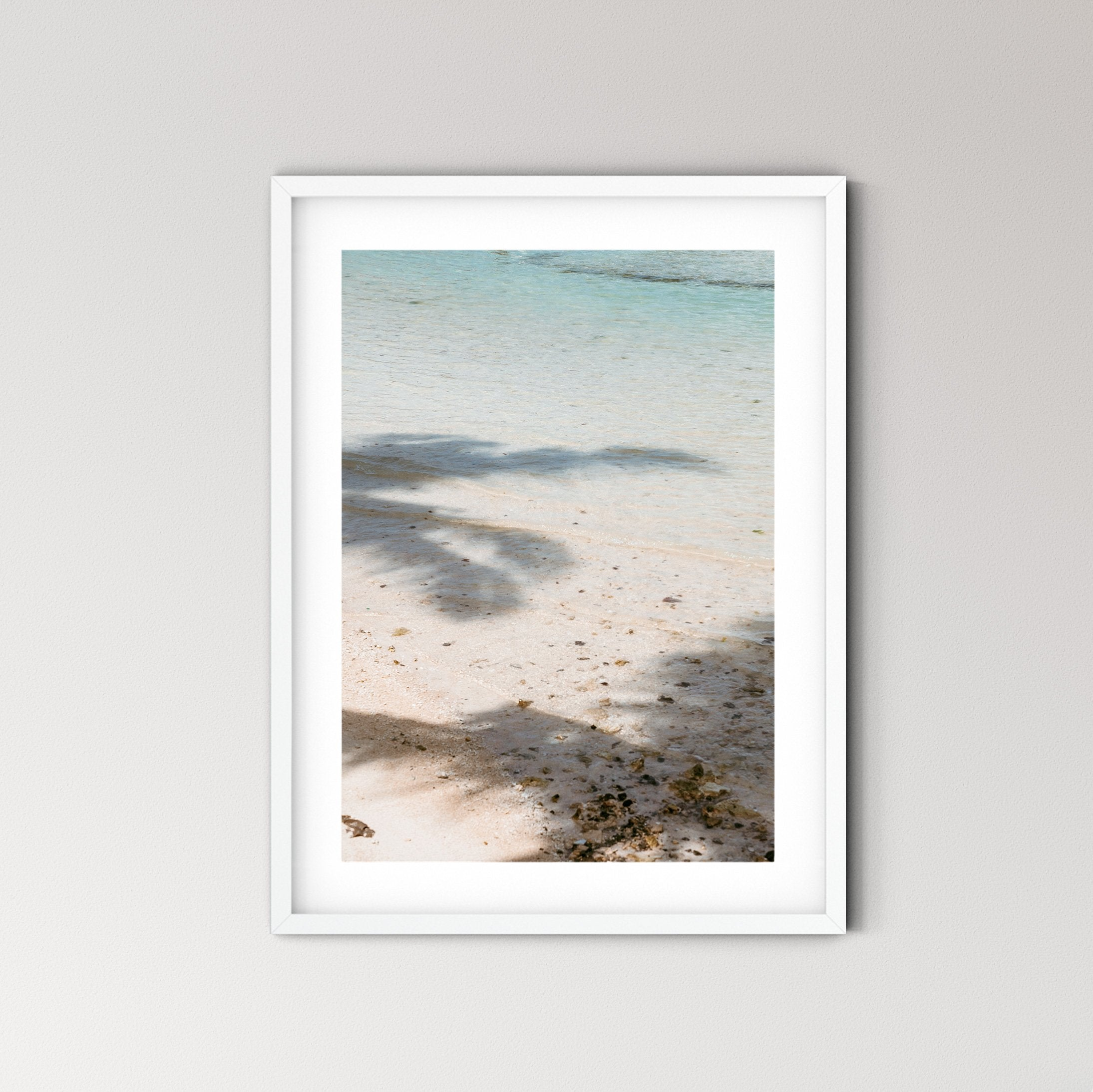 Ceningan Bali Photo Print - Feathers and Stone