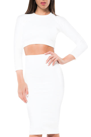 Femme LA - Classic Two-Piece  Skirt - COMMON